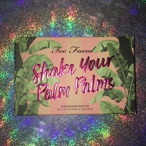 Too Faced Shake Your Palm Palms Palette BNIB